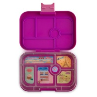 Yumbox Classic 6 Compartment Lunchbox Bijoux Purple
