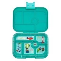 Yumbox Classic 6 Compartment Lunchbox Kashmir Blue