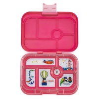Yumbox Classic 6 Compartment Lunchbox Lotus Pink