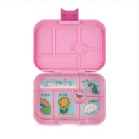 Yumbox Classic 6 Compartment Lunchbox Power Pink