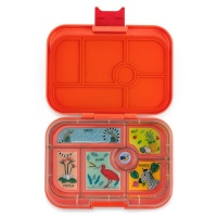 Yumbox Classic 6 Compartment Lunchbox Safari Orange