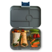 Yumbox Tapas Leak Free Lunchbox 4 Compartments Flat Iron Grey