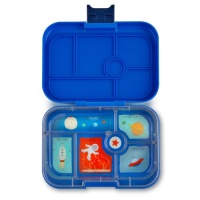 Yumbox Classic 6 Compartment Lunchbox Neptune Blue