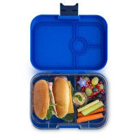 Yumbox 4 Compartment Panino Lunchbox Neptune Blue