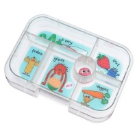 Yumbox Extra Tray for Classic Yumbox (6 compartments) - Funny Monsters