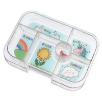Yumbox Extra Tray for Classic Yumbox (6 compartments) - Unicorn