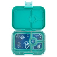 Yumbox 4 Compartment Panino Lunchbox Kashmir Blue