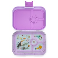 Yumbox 4 Compartment Panino Lunchbox Lila Purple