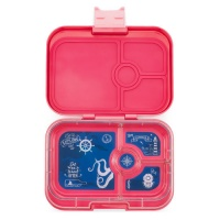 Yumbox 4 Compartment Panino Lunchbox Lotus Pink