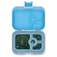 Yumbox Panino Lunchbox 4 Compartments Luna Blue