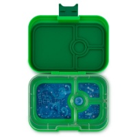 Yumbox 4 Compartment Panino Lunchbox Terra Green