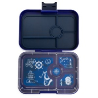Yumbox Tapas Leak Free Lunchbox 4 Compartments Portofino Blue
