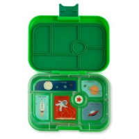 Yumbox Classic 6 Compartment Lunchbox Terra Green