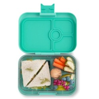 Yumbox 4 Compartment Panino Lunchbox Mystic Aqua