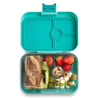 Yumbox Panino Leak Free Lunchbox 4 Compartments Surf Green