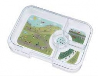 Yumbox Extra Tray for Tapas Yumbox (4 compartments) - Bike Race