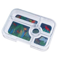 Yumbox Extra Tray for Tapas Yumbox (5 compartments) - Jungle Tray
