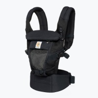 Ergobaby Adapt Newborn to Toddler Baby Carrier Cool Air Onyx Black