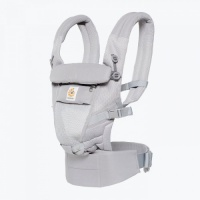 Ergobaby Adapt Newborn to Toddler Baby Carrier Cool Air Pearl Grey