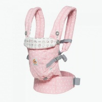 Ergobaby Adapt Newborn to Toddler Baby Carrier Limited Edition Hello Kitty Playtime