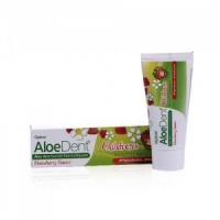 Aloe Dent Children Flouride Free Strawberry Toothpaste 50ml