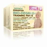 Beaming Baby Biodegradable Training Pants Single Pack Size 8