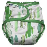 Best Bottom Heavy Wetter All in One Cloth Nappy Prickly Cactus