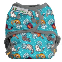 Best Bottom Bigger Cloth Nappy Wrap Cat-a-strophic