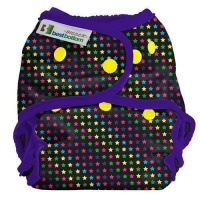 Best Bottom Bigger Cloth Nappy Wrap Sprinkled Stars