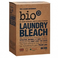 Bio D Oxygen Based Laundry Bleach - In Wash Whitener, Stain & Odour Remover