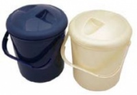 Nappy Bucket with Lid for Reusable Nappies 10 L