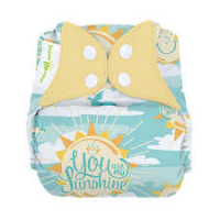 bumGenius Freetime All-In-One One-Size Cloth Nappy My Sun