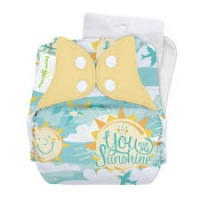bumGenius V5 One-Size Stay-Dry Pocket Cloth Nappy My Sun