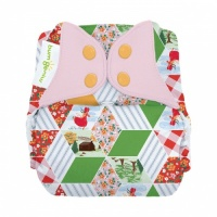 bumGenius Freetime All-In-One One-Size Cloth Nappy Patchwork