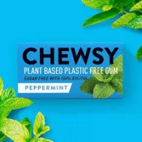 Chewsy Plant Based Compostable Chewing Gum Peppermint