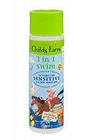 Childs Farm Children's 3 in 1 Swim Shampoo, Conditioner and Body Wash