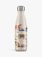 Chilly's Reusable Insulated Water Bottle 500ml Cats