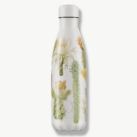 Chilly's Reusable Insulated Water Bottle 500ml Botanical Cacti