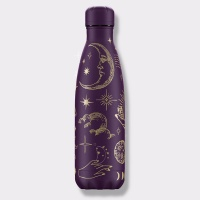 Chilly's Reusable Insulated Water Bottle 500ml Mystic Purple