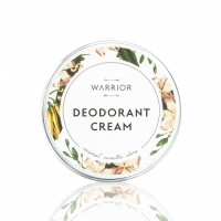Warrior Natural Cream Deodorant  – Plastic free - Coconut Vanilla Clove