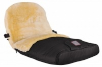 Fellhof 100% Lambswool Cortina Deluxe Footmuff for Prams