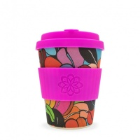 Ecoffee Reusable Coffee Cup - No Excuse For Single-Use - Couleurs Cafe 12oz/340ml