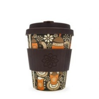 Ecoffee Reusable Coffee Cup - No Excuse For Single-Use - Morning Coffee 12oz/340ml