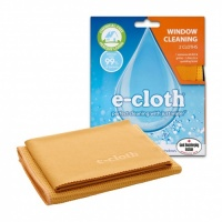 E Cloth Window Cleaning Cloths 2 Pack - Perfect Cleaning With Just Water