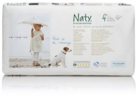 Naty Nature Babycare Eco Nappies Economy Pack Size 4+