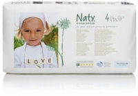 Naty Nature Babycare Eco Nappies Economy Pack Size 4