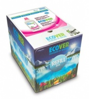 Ecover Fabric Conditioner Bag in a Box 15 Ltr Refill