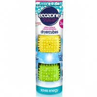 Ecozone Dryer Cubes - Softens Clothes and Reduces Drying Time
