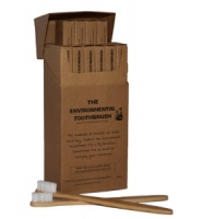 The Environmental Toothbrush with Biodegradable and Sustainable Bamboo