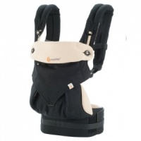 Ergobaby 360 Four Position Baby Carrier Black Camel